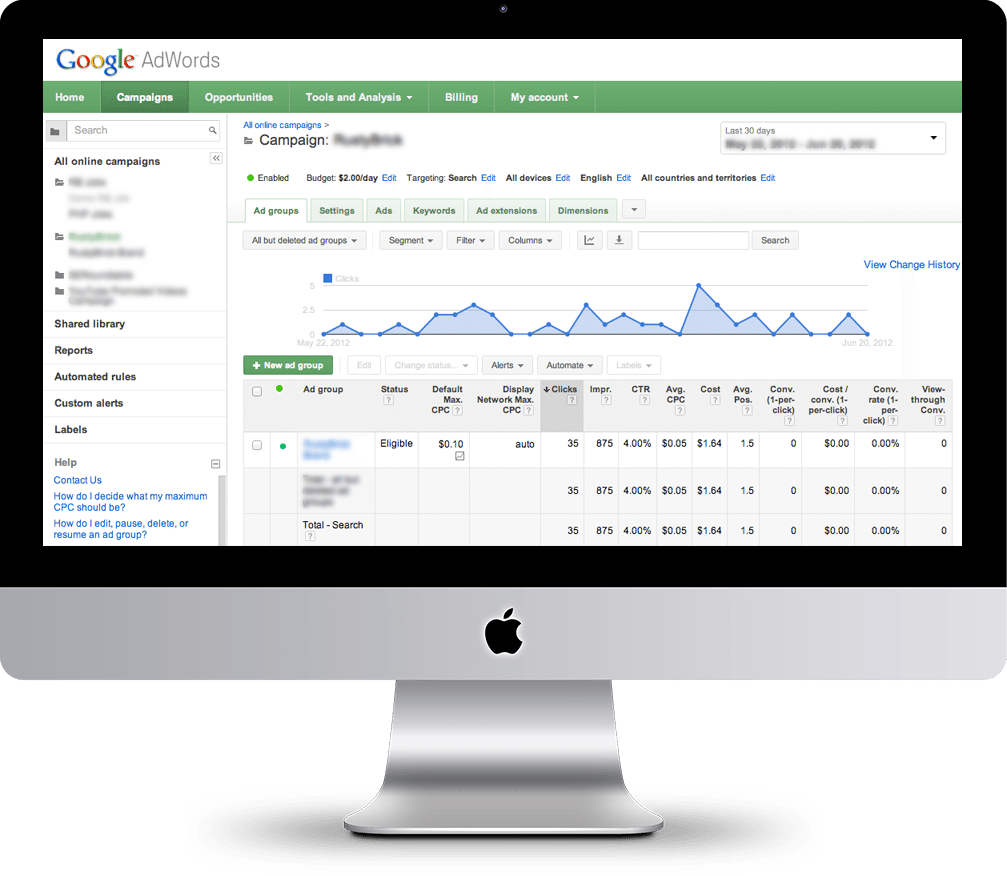 Expert In Reputation Pay Per Click Google Adwords